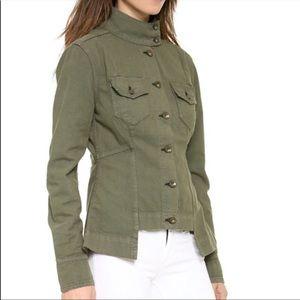 Rag & bone Chamberlain Army Green Utility Jacket